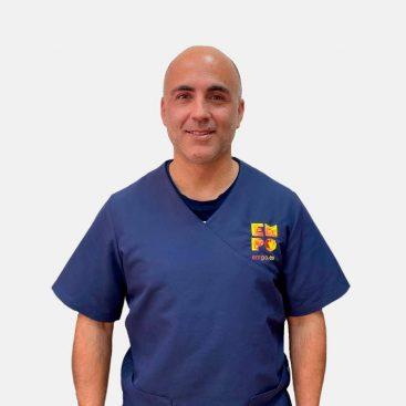 Fisioterapeuta y osteópata Brígido Ruano Hermoso